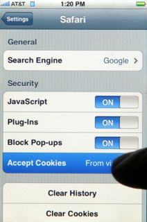 how to turn cookies on iphone how to enable cookies on the iphone 7732